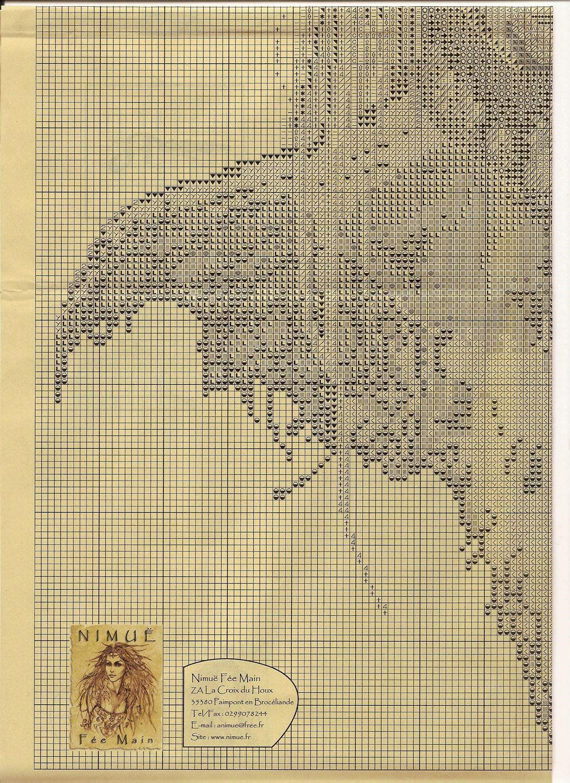 Nimue Схемы для вышивки крестом Печатная продукция 24