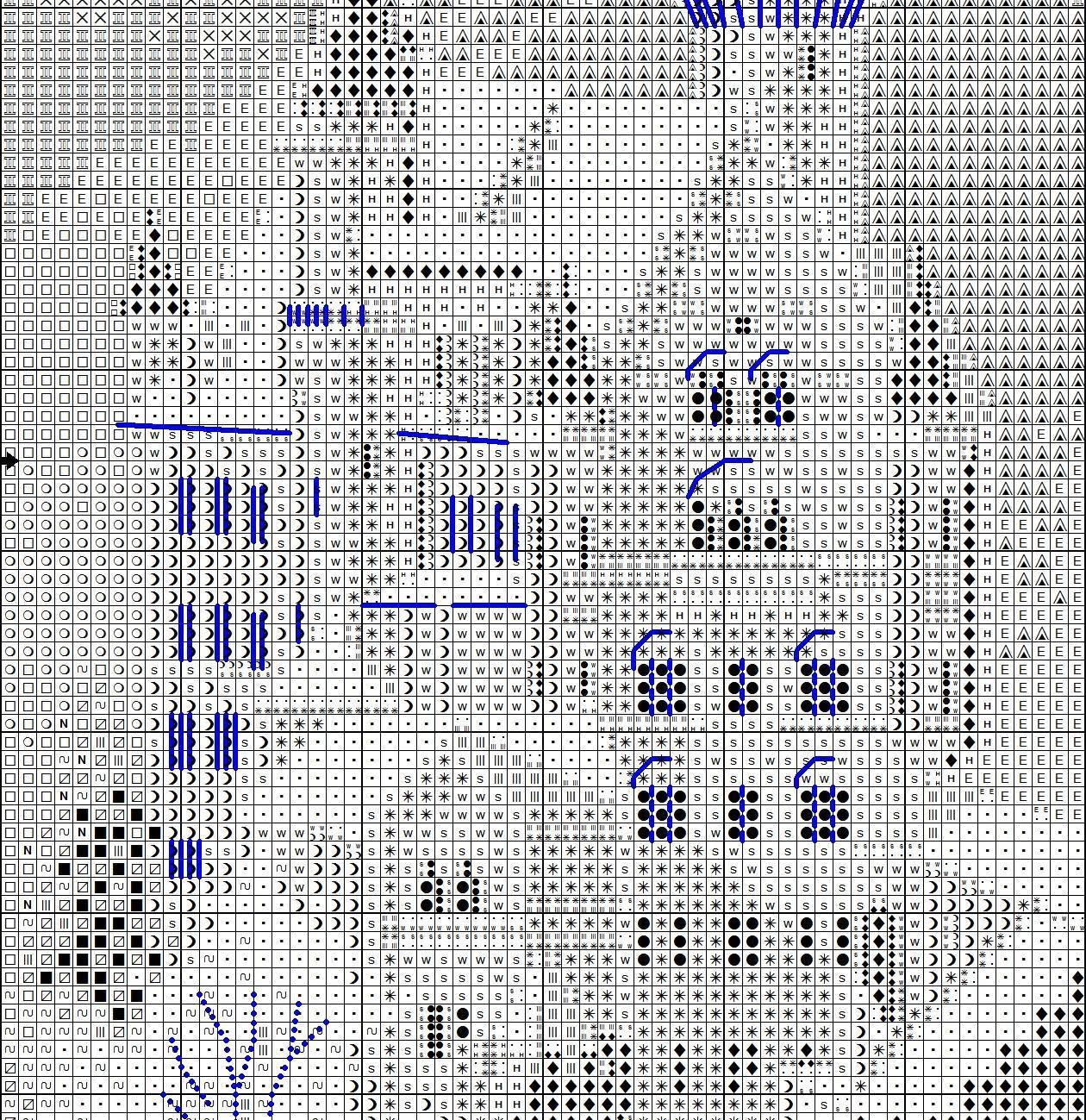 Вышивка замка Нойшванштайн - Риолис 80