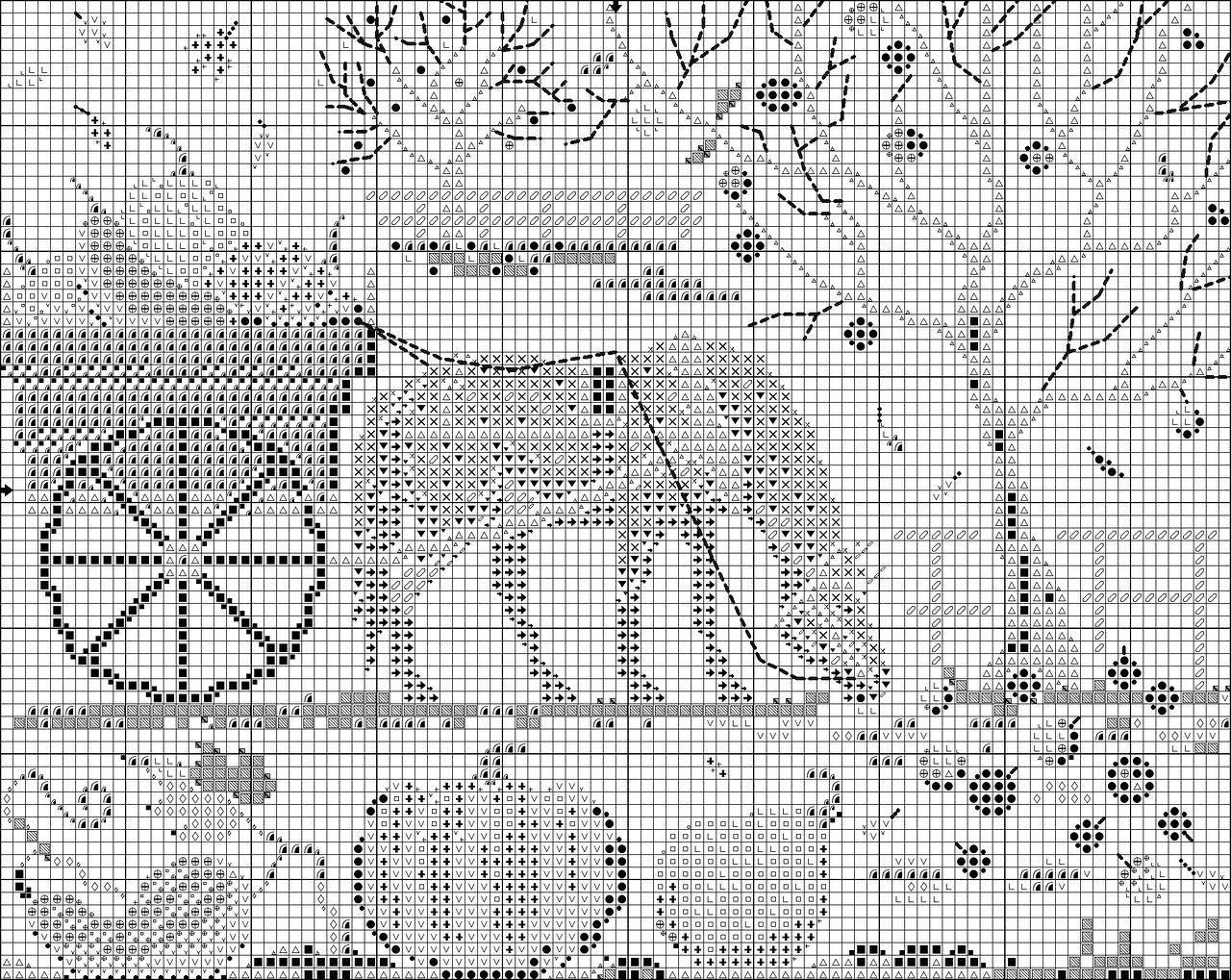 Вышивка Счастливая лошадка