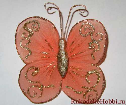 Делаем украшение - бабочку
