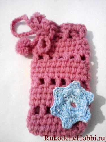 Images for вязаный крючком чехол для мобильного телефона.