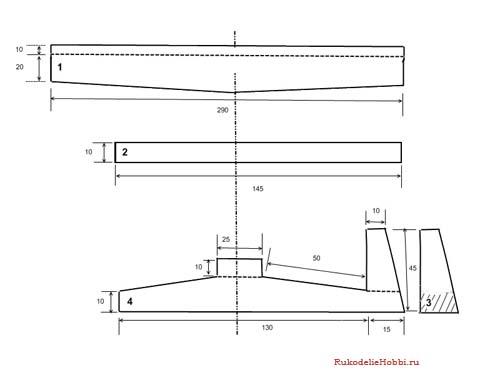 Как сделать планер из бумаги