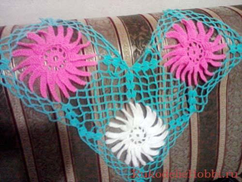 Чепчик для новорожденных схемы вязания